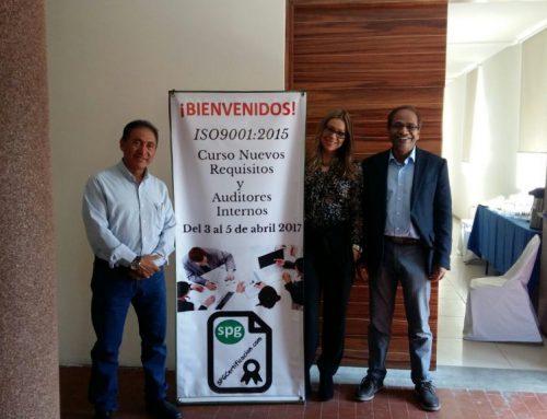 """EN MÉXICO """"CERTIFICACIÓN DE AUDITOR INTERNO Y NUEVOS REQUISITOS DE LA NORMA ISO9001:2015"""""""
