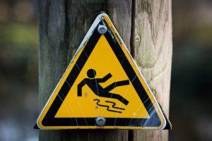 seguridad, laboral, salud, trabajo, señal, resbalar, atención