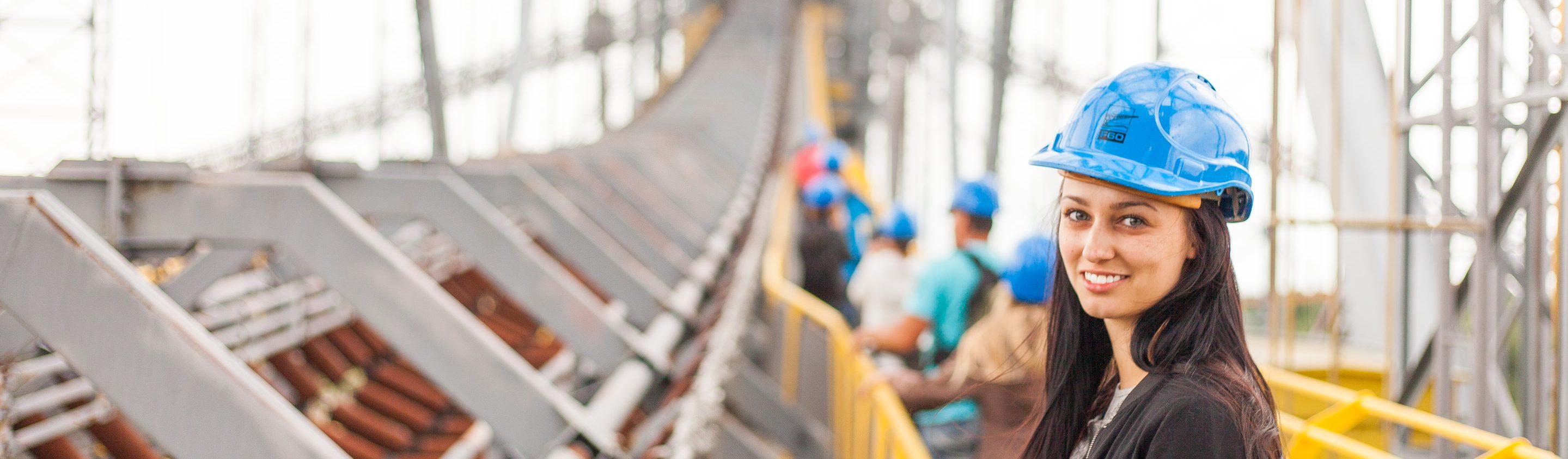 seguridad, laboral, salud, trabajo, puente, casco, construcción