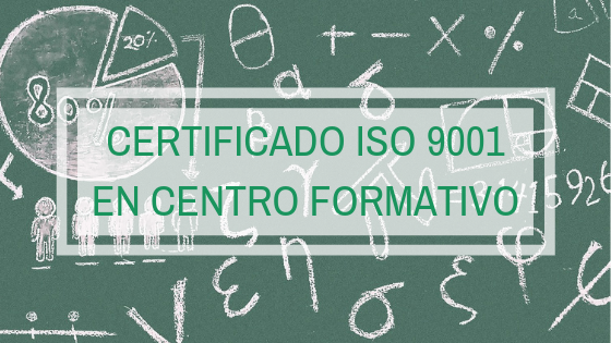 certificado iso 9001 ccentro formativo formación auditoría spg certificacion