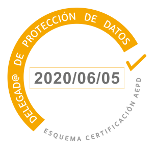 Logo esquema certificación AEPD - Delegado de protección de datos