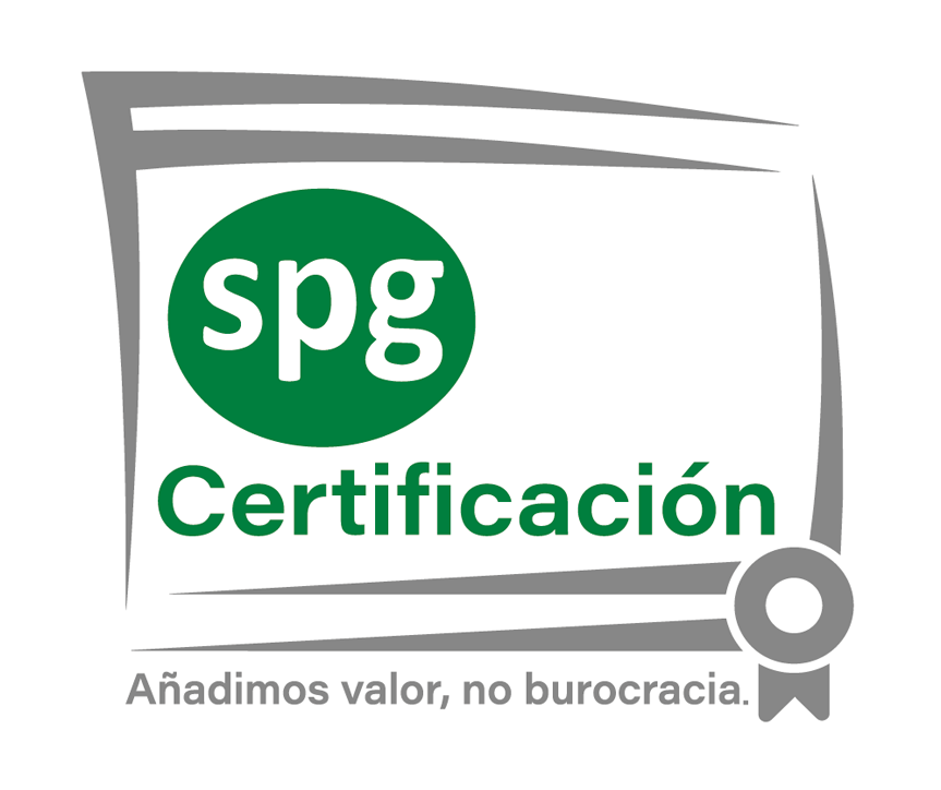 SPG CERTIFICACIÓN | Certificado ISO 9001 Logo