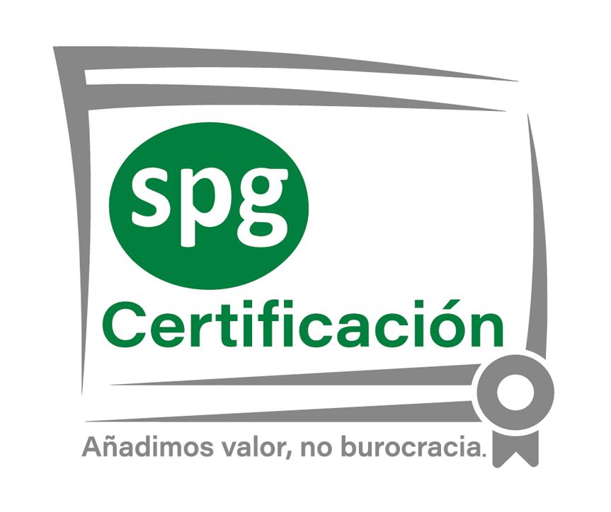 SPG CERTIFICACIÓN | Certificado ISO 9001 Logo