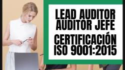 Curso online lead auditor auditor interno certificación iso 9001